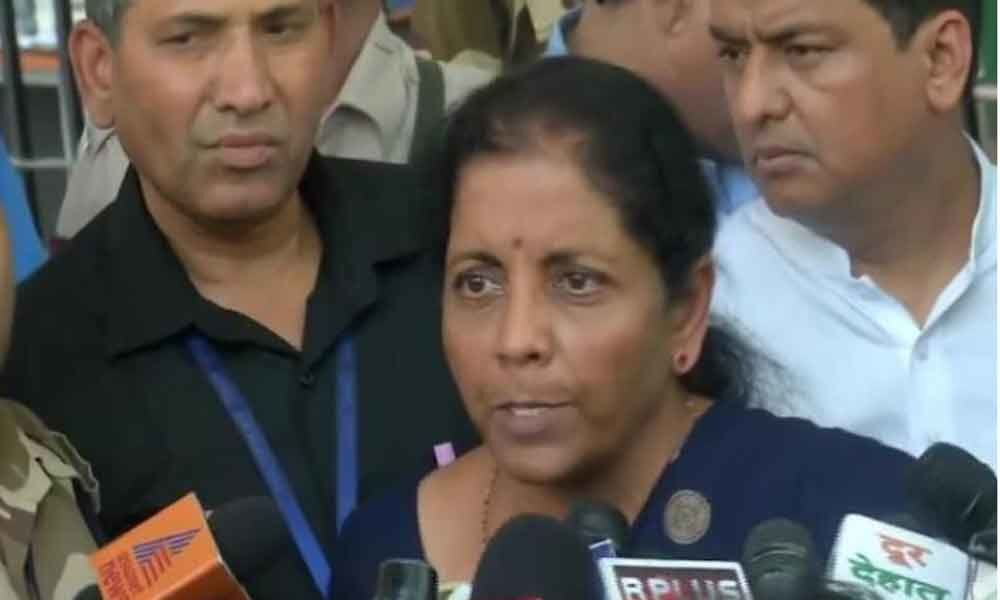 Sitharaman condemns purported letter to President on the politicisation of Armed Forces