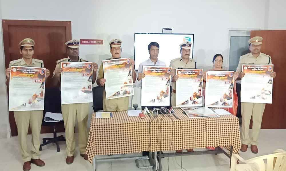 Fire Safety Week to be held from tomorrow