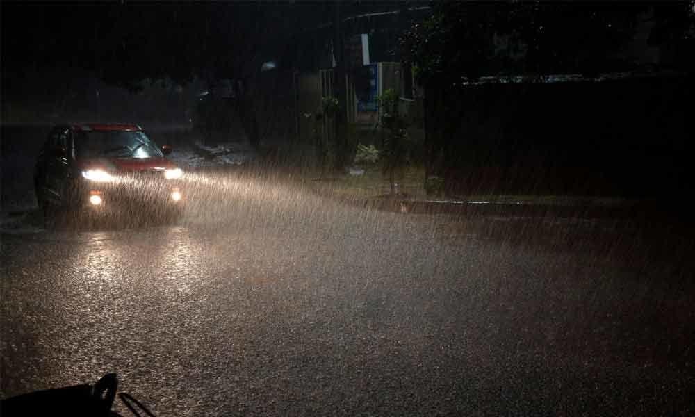 Unseasonal rains provide relief from scorching heat