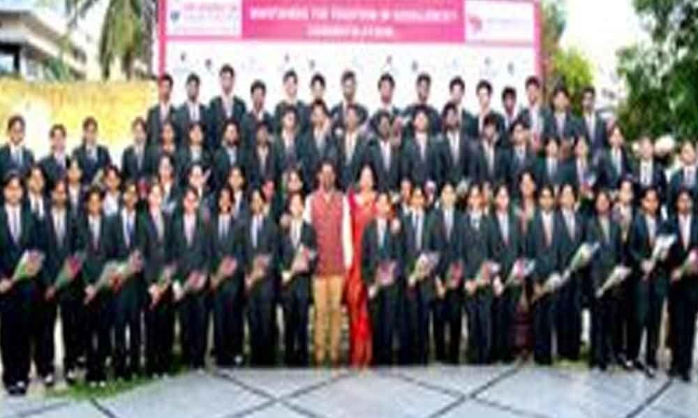 Vignan students excel in IPE