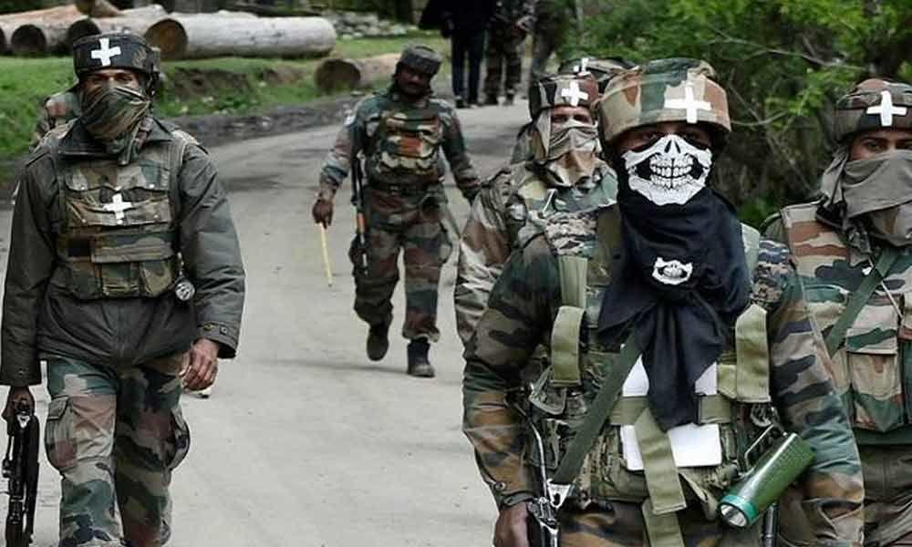 Encounter between security forces, terrorists underway in J&K