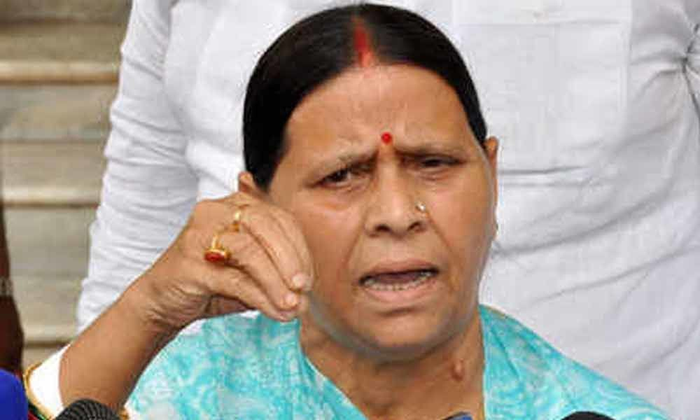 Nitish willing to make Tejaswi CM, if Oppn declares him PM candidate: Rabri Devi