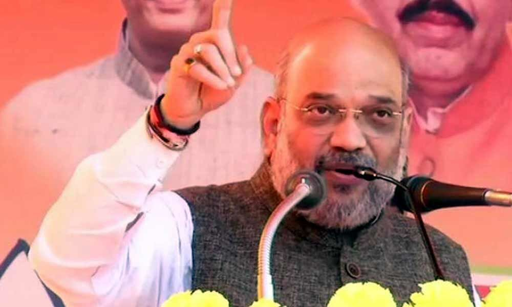 Congress doing Ilu Ilu with terrorists: Amit Shah