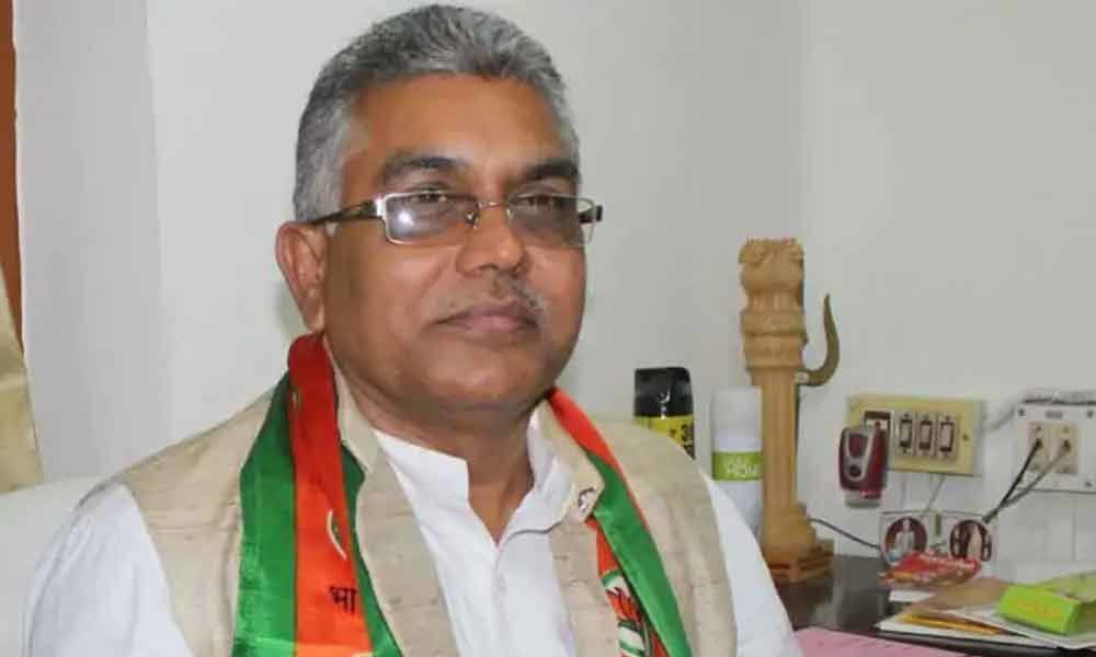 Bengal BJP chief puts arms show on Navami day