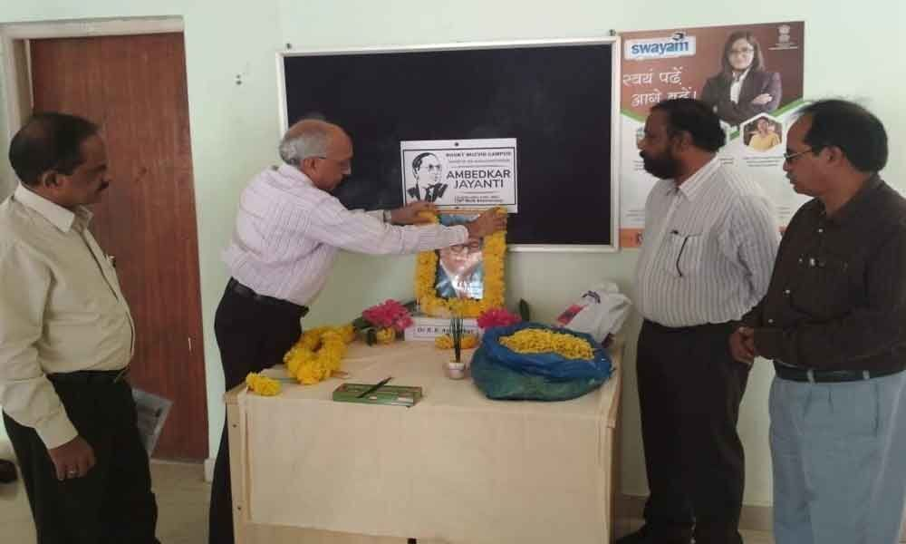 Tributes paid to Dr BR Ambedkar