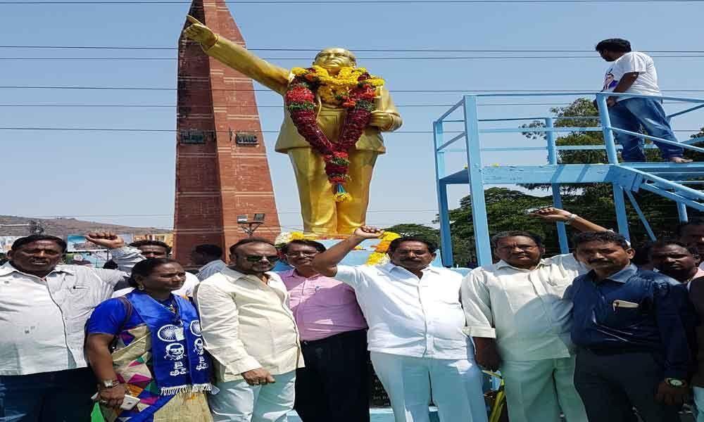 Ambedkars birth anniversary celebrated