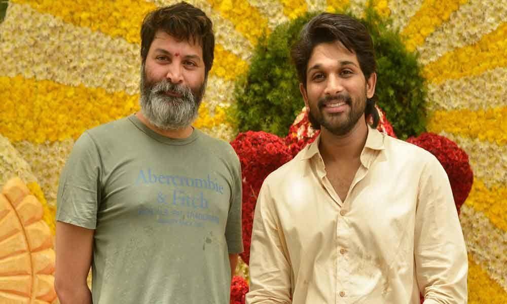 Allu Arjun, Trivikram film kicks off