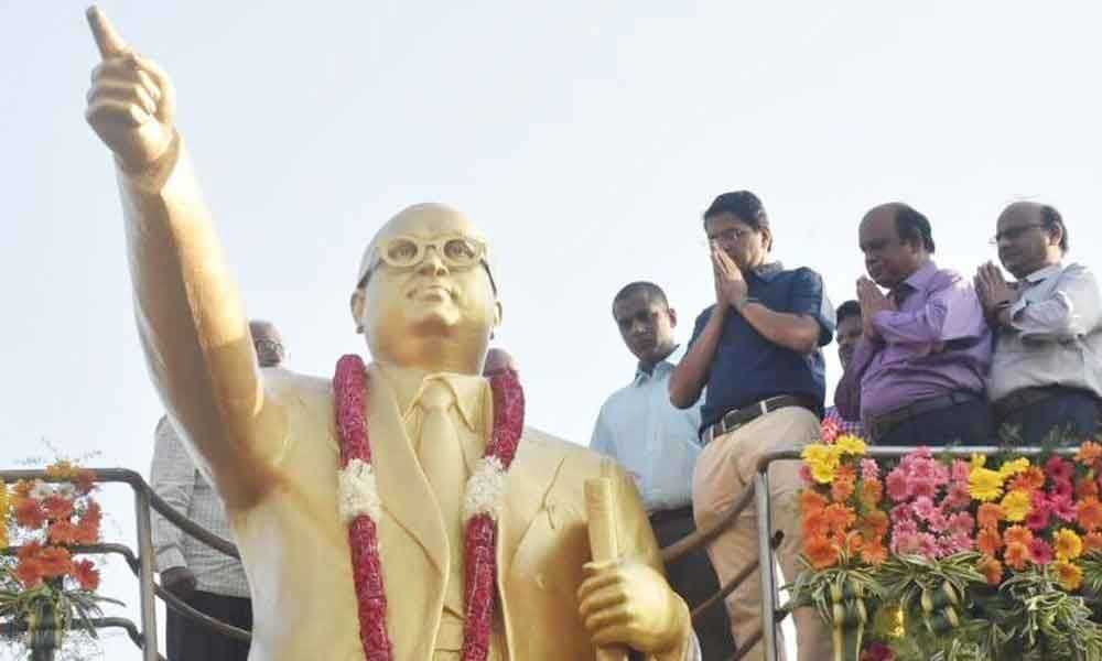 People recall services of Ambedkar to nation