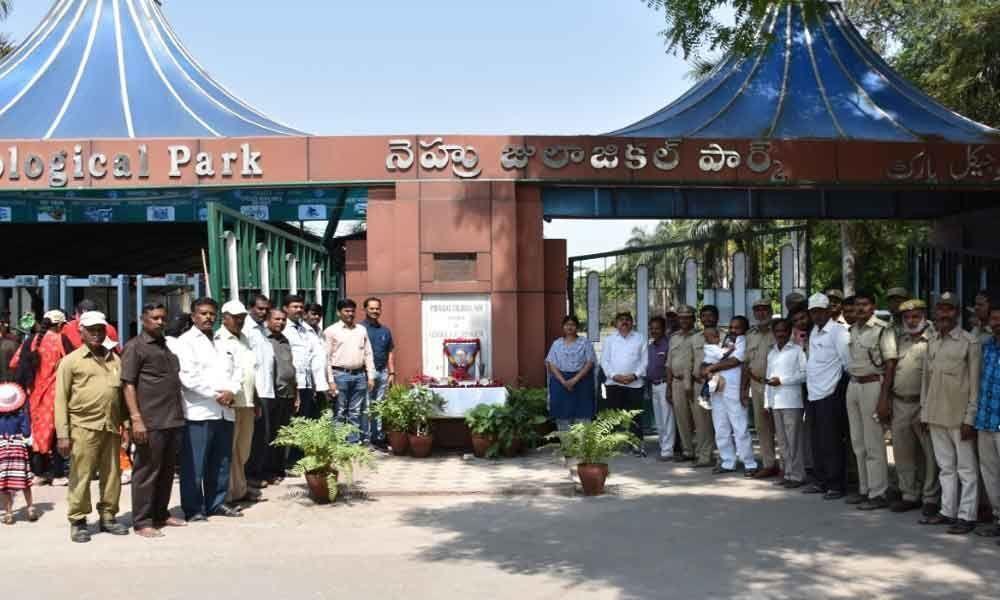 Nehru Park celebrates Ambedkar