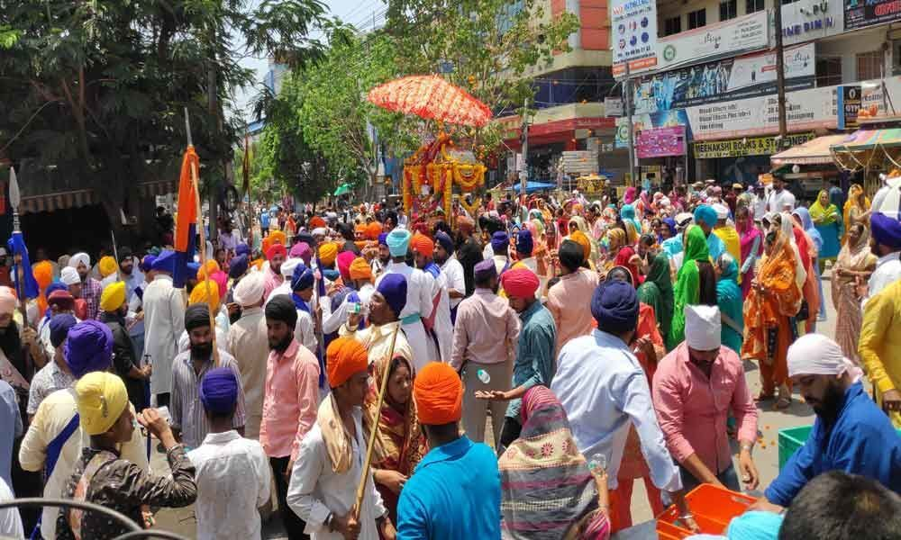 Vaisakhi celebrated with religious fervour