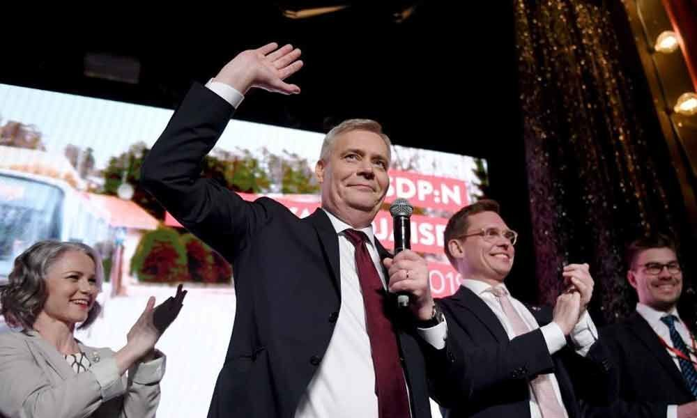 Centre-left party wins Finland general election