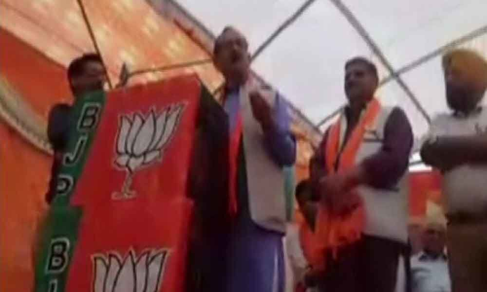 Watch: Himachal BJP chief makes obscene slur for Rahul, Cong demands an apology