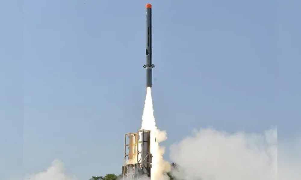 """Sub-Sonic Cruise Missile """"Nirbhay"""" Successfully Test-Fired"""