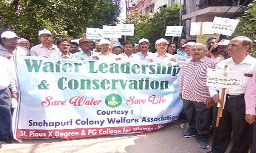 Rally sensitises people on water conservation
