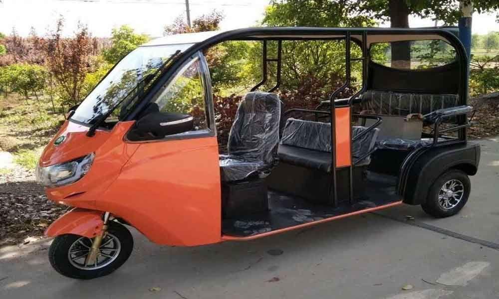 E-rickshaw that can reduce pollution