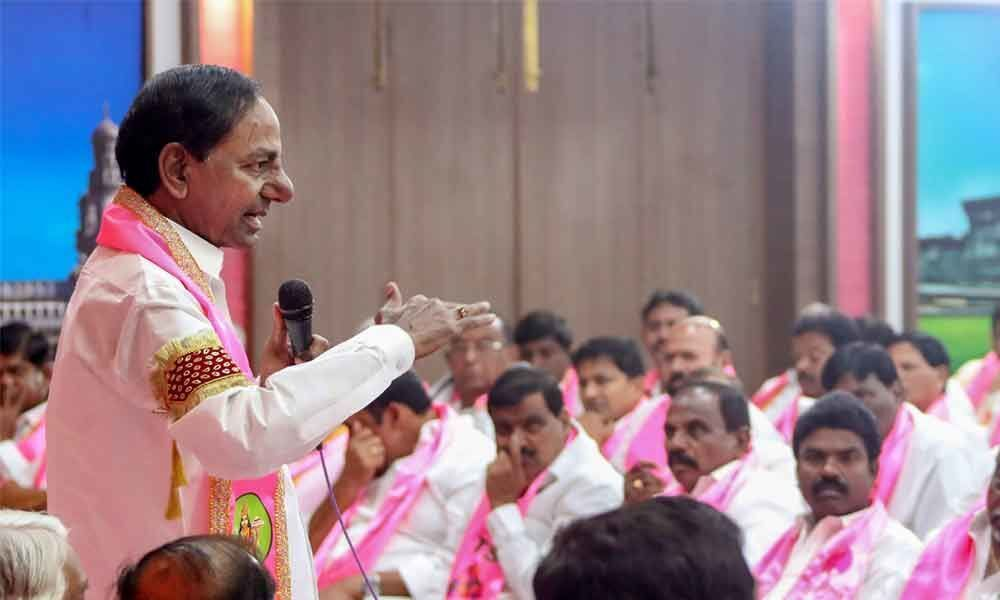 Committed will get rewarded: KCR