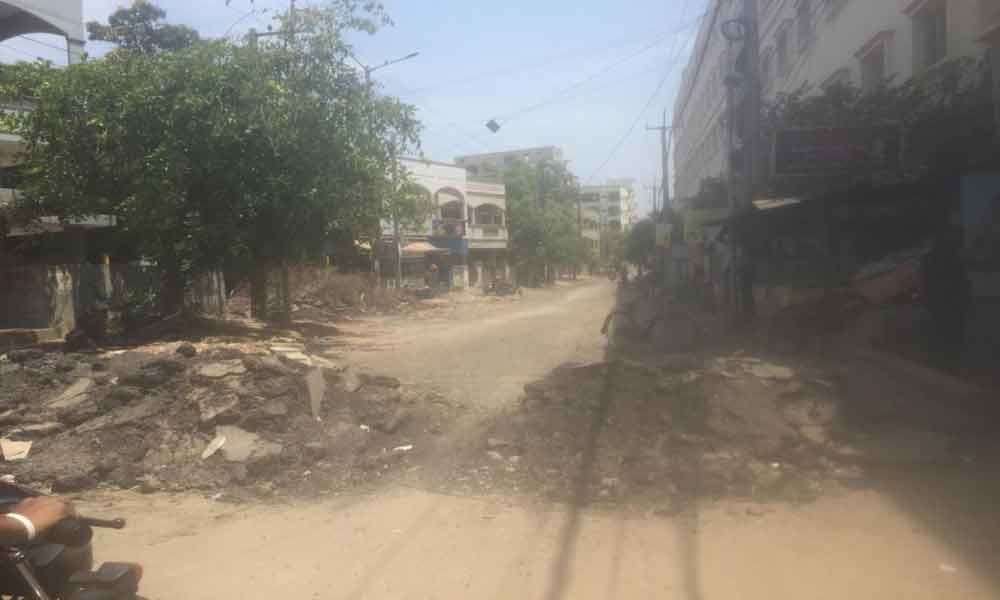 Commuters fume as road works delayed
