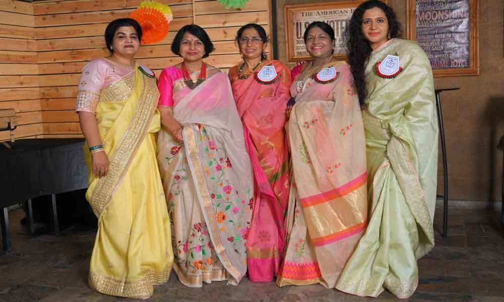 Saree Speak Group campaigns for saree