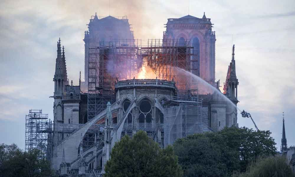 Worst had avoided, vows to rebuild: Macron on Notre-Dame Cathedral fire