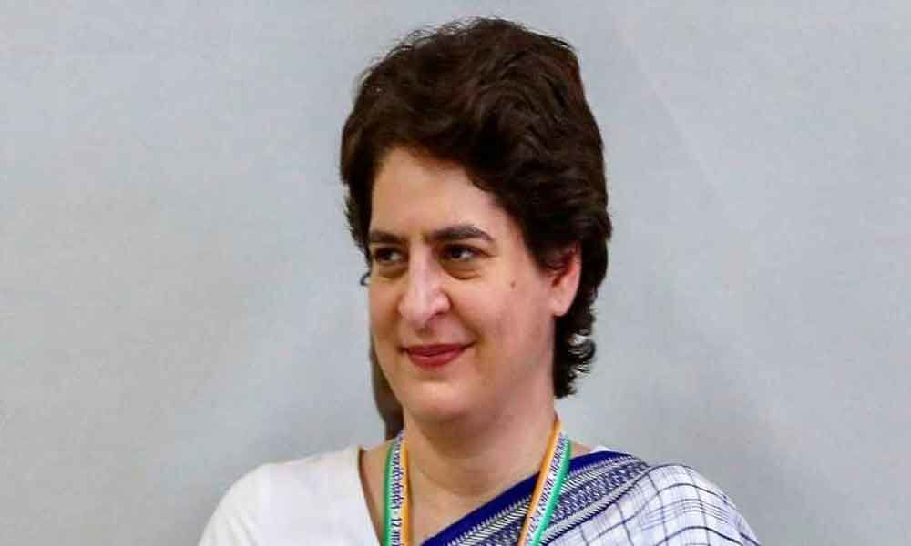 BJP should learn to respect all martyrs: Priyanka Gandhi
