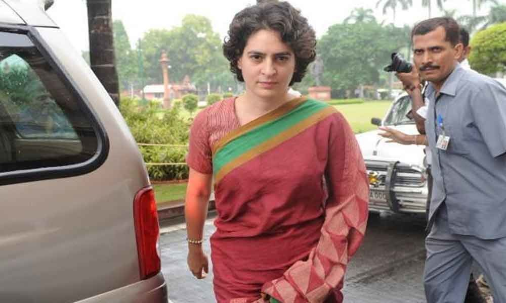 Workers in Amethi will reply to Modis low-level politics: Priyanka Gandhi