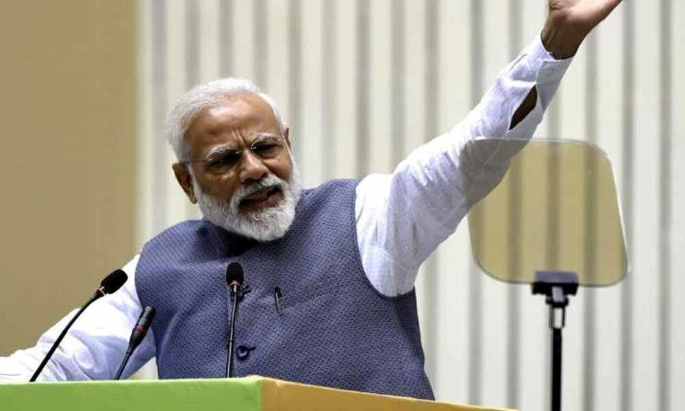 One vote made surgical strike, air strike possible: PM Narendra Modi