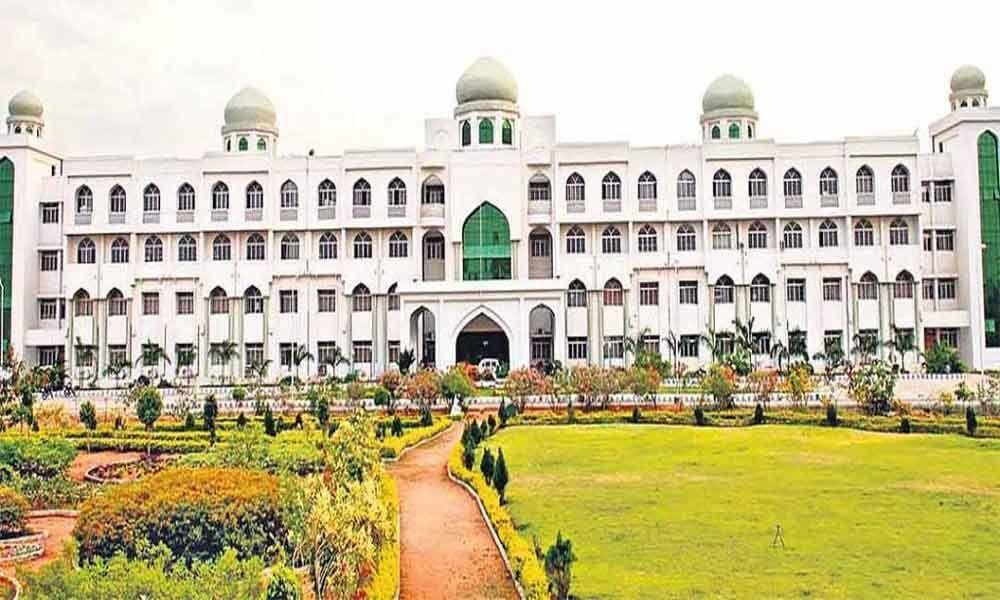 Workshop on exam reforms at Maulana Azad National Urdu University