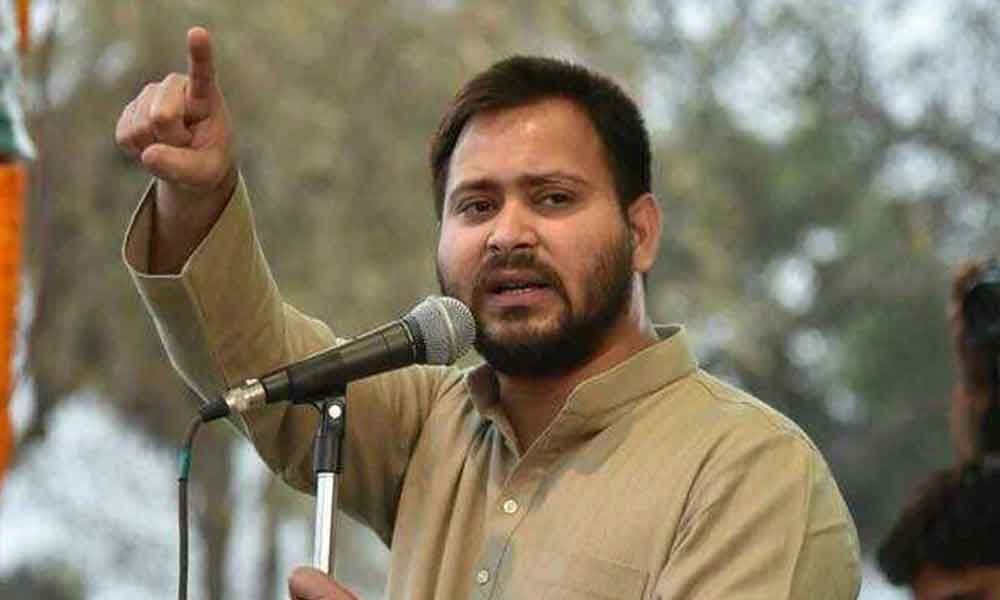 Had Lalu joined hands with BJP, would have been called Harishchandra: Tejashwi