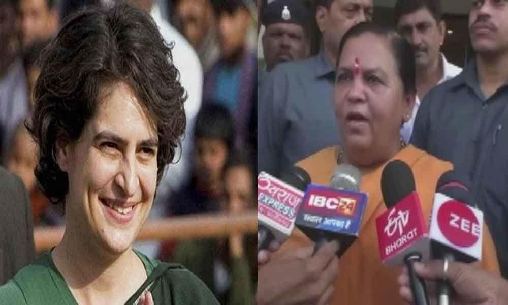 The country will see Priyanka Gandhi the way it views chor ki biwi: Uma Bharti