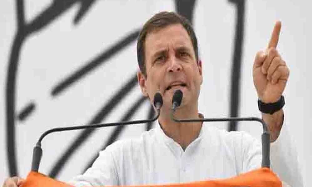 PM most anti-national, dividing nation: Rahul Gandhi