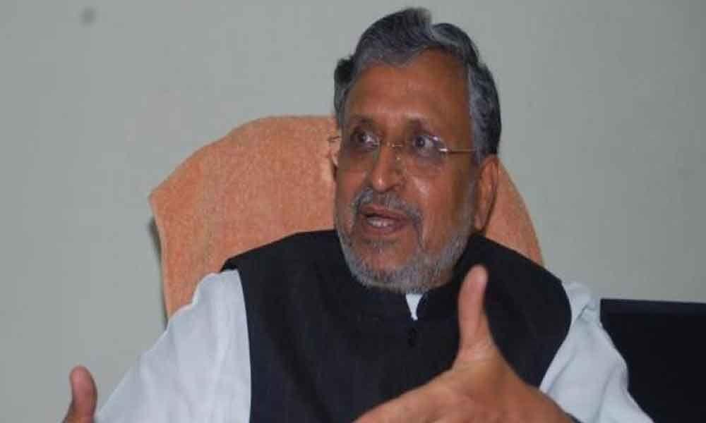 Lalu said would topple Nitish govt, if Jaitley held back CBI: Sushil Modi