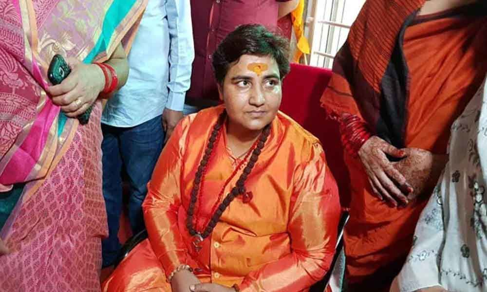 Sadhvi Pragya joins BJP, says will contest polls