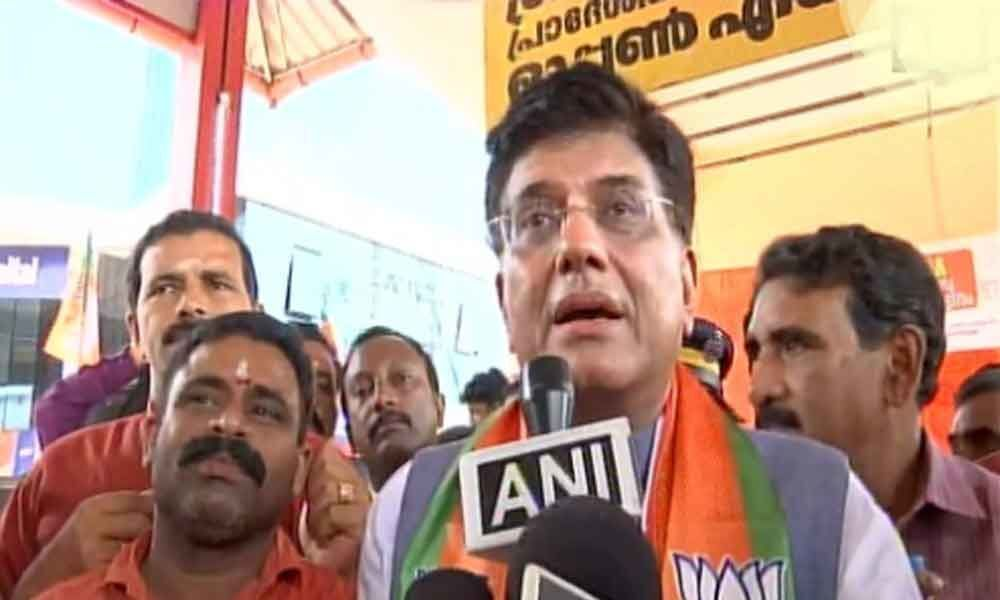 Rahul Gandhi will be rejected by people of Wayanad: Piyush Goyal