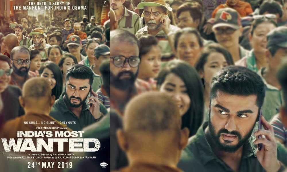 Check Out Arjun Kapoors Intense New Avatar in Indias Most Wanted