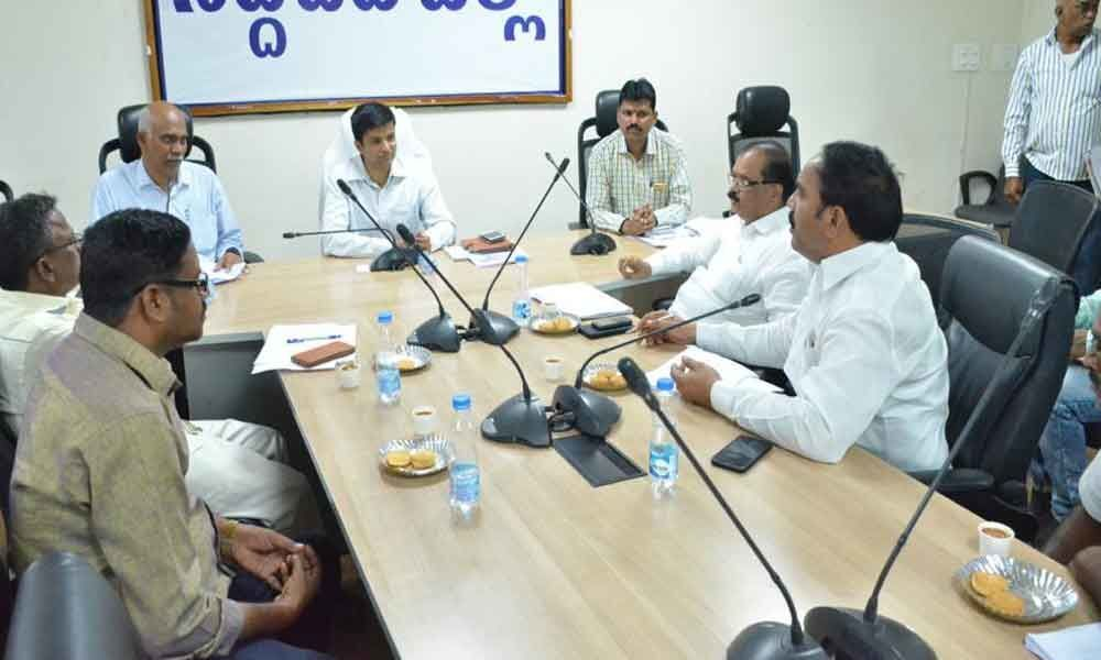 Review meet held on local body polls