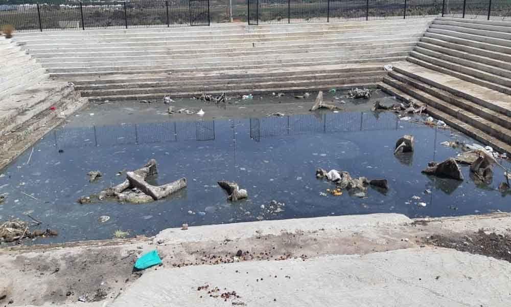 Bathukamma ghats turn dump yards