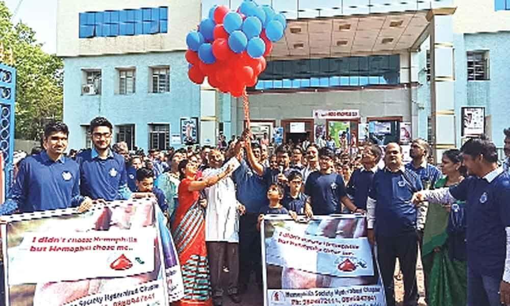 World Haemophilia Day celebrated at Niloufer