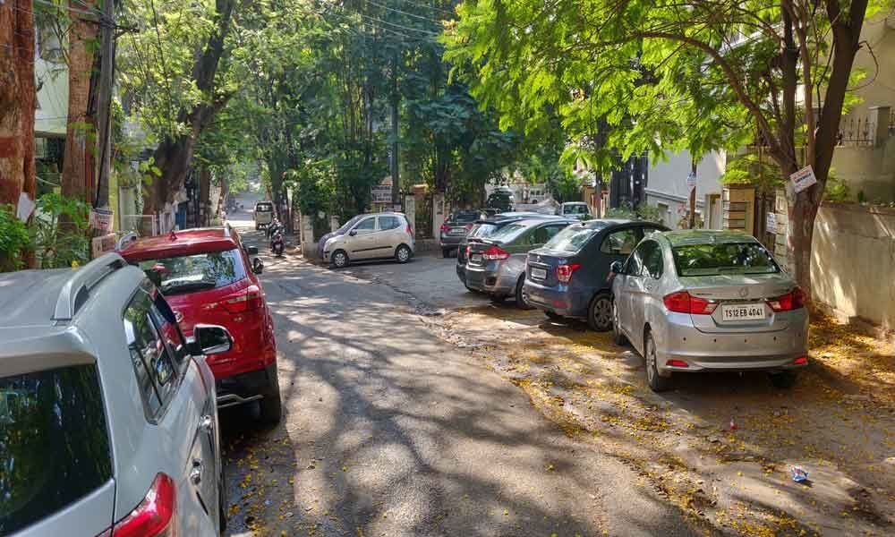 Scant parking space irks residents, visitors