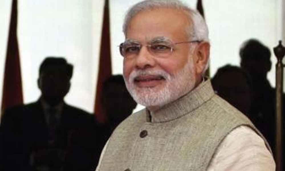Poll officer searches PM Modi