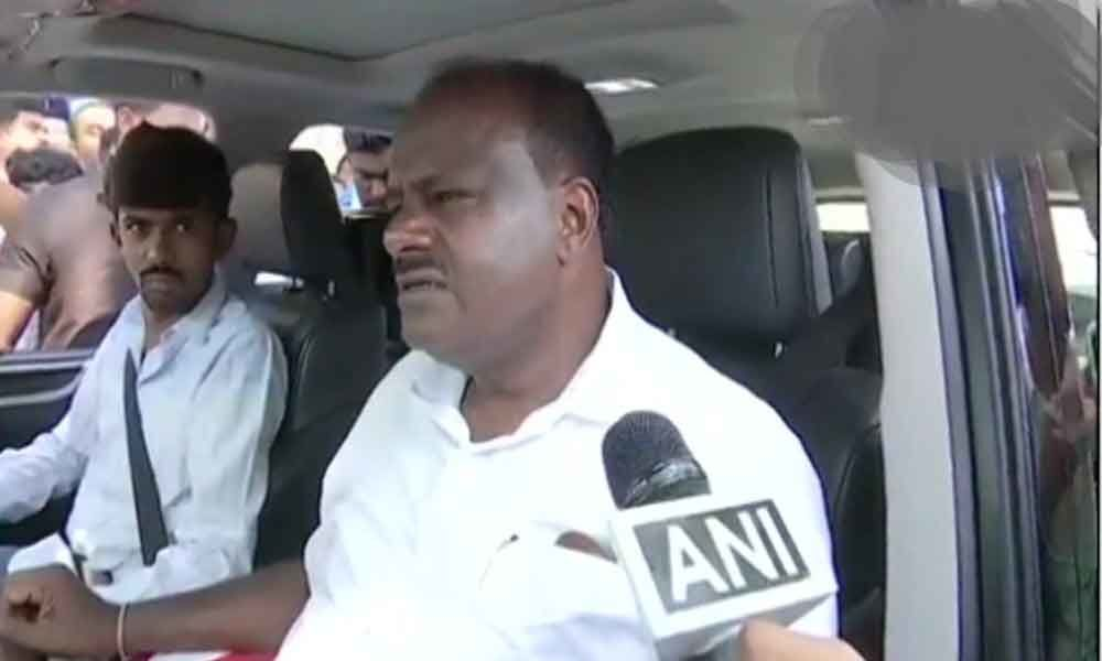Congress-JD(S) expected to win 10-12 out of 14 Lok Sabha seats in Karnataka: Kumaraswamy