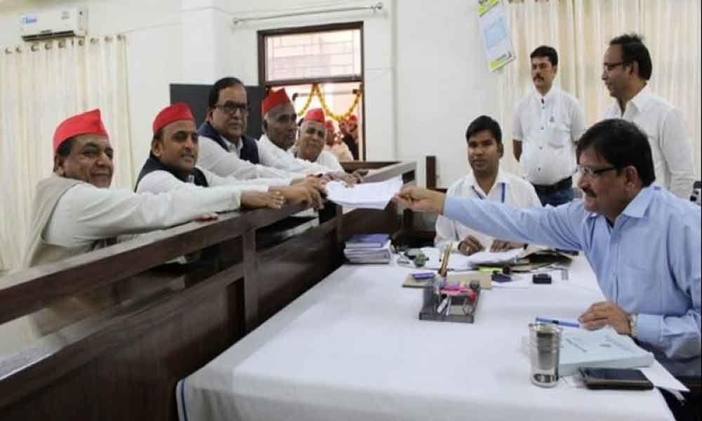 Akhilesh Yadav files nomination from Azamgarh