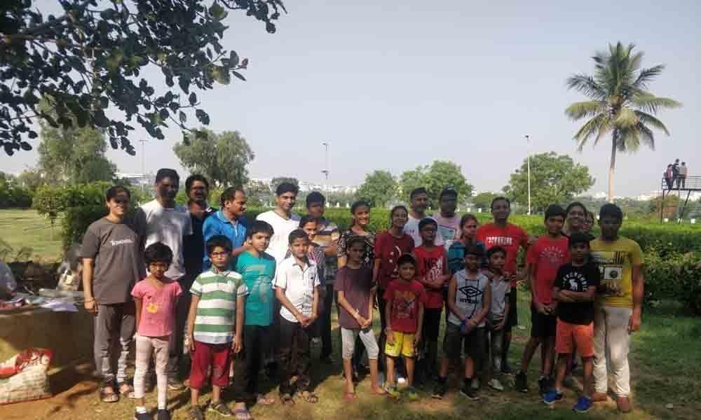 Sanjeevaiah Park, now an attractive hangout for children
