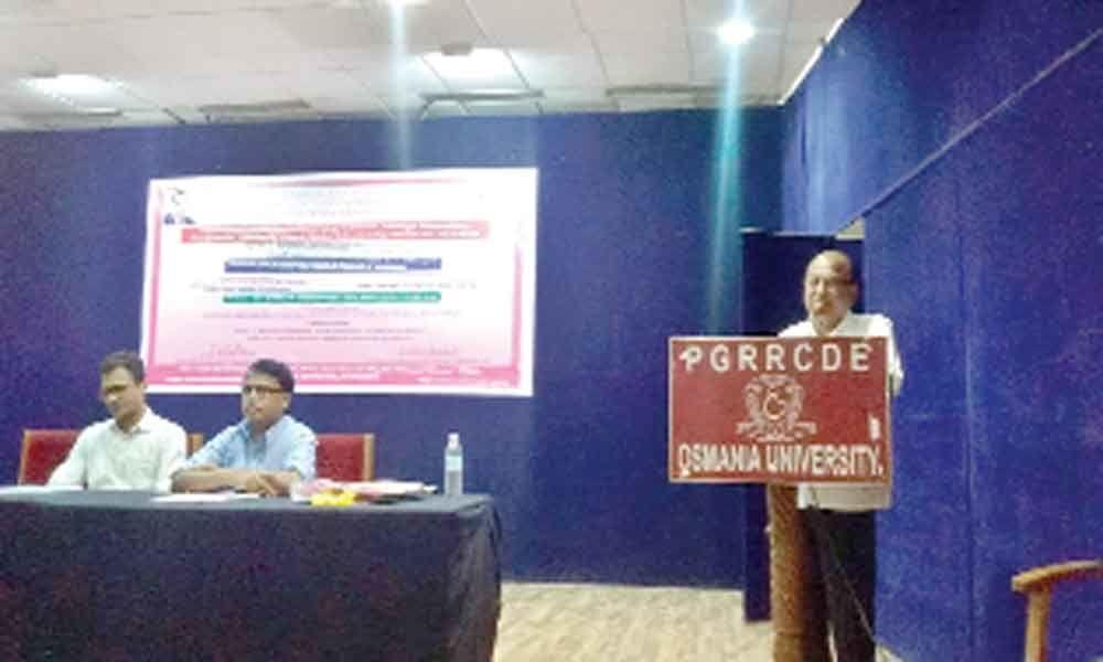Awareness drive on Overseas Vidya Nidhi