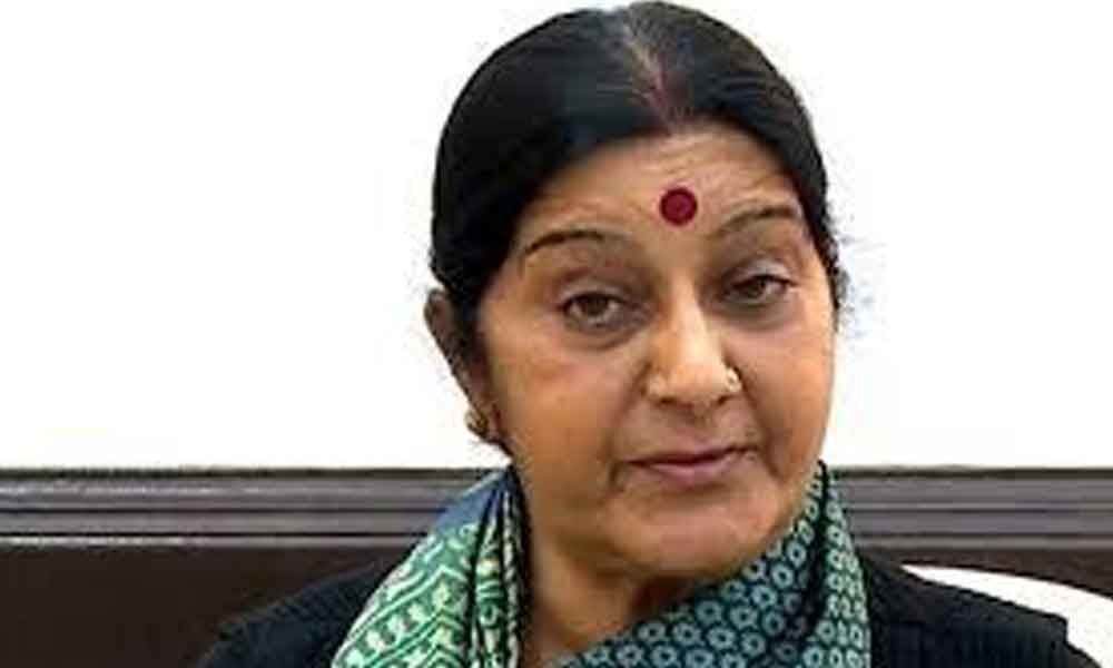 Sushma assures support to Indians stranded in Saudi