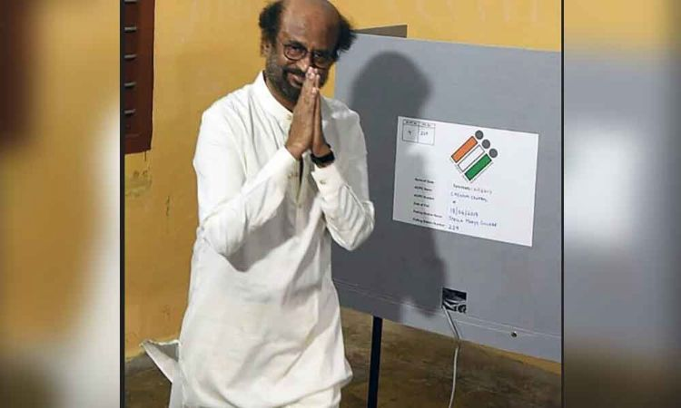 Southern stars and politicians vote in Tamil Nadu LS Polls Phase Two