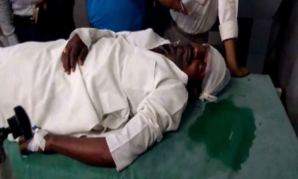 Local BJP leader attacked in Mathura on polling day