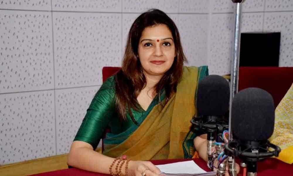 Congress spokesperson Priyanka Chaturvedi quits party