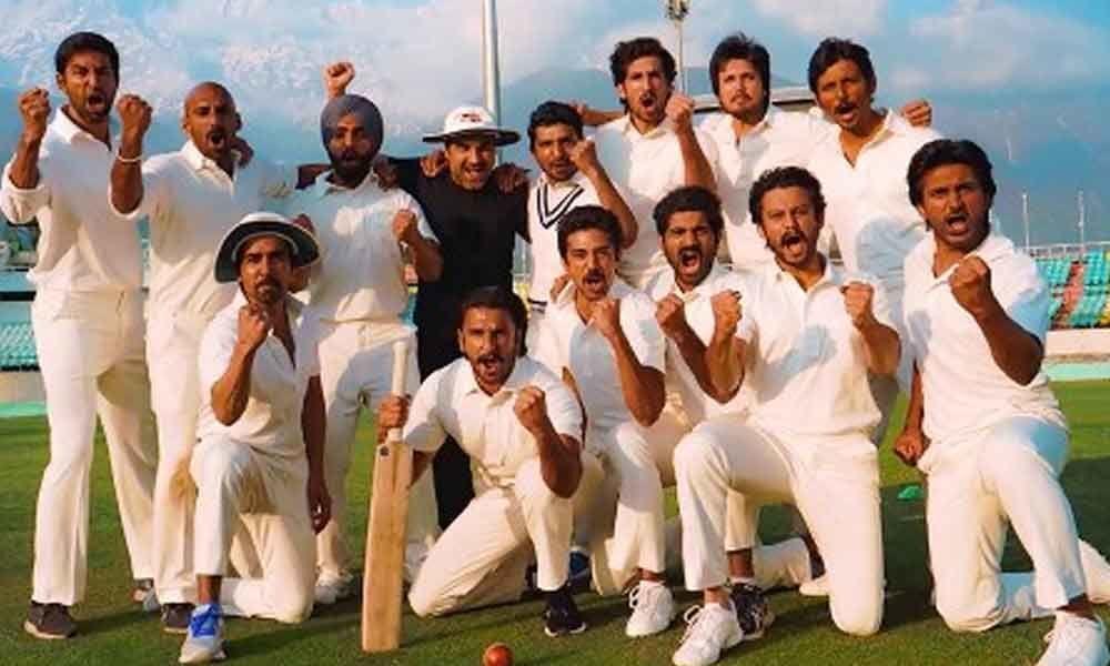 Ranveer Singh Unveils Prep Mode of Cast Of 83