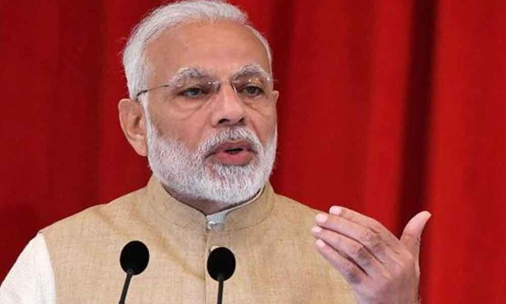 I-T raids not part of political vendetta, happening as per law: PM Modi