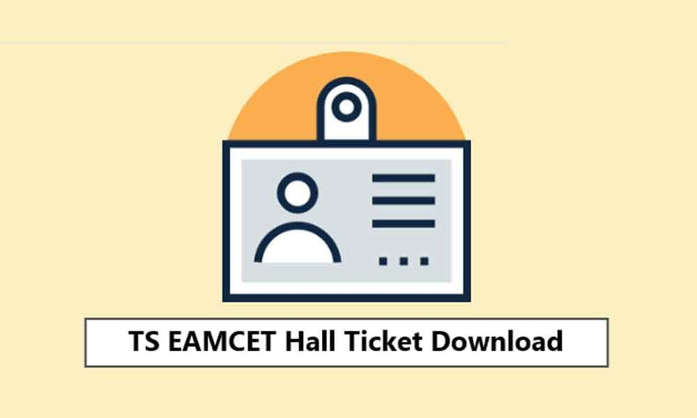 TS EAMCET 2019 hall ticket to be out today